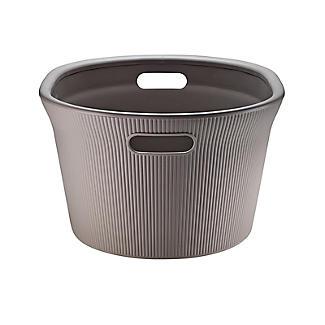 Tatay Laundry Basket Taupe 35L alt image 6