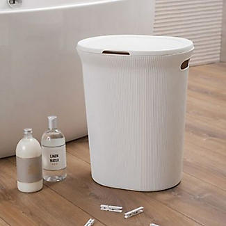 Tatay Laundry Hamper White 40L alt image 2