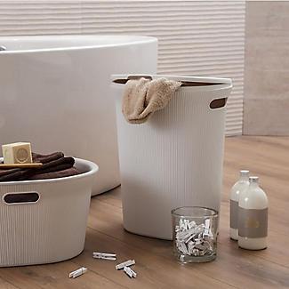 Tatay Laundry Hamper White 40L alt image 4