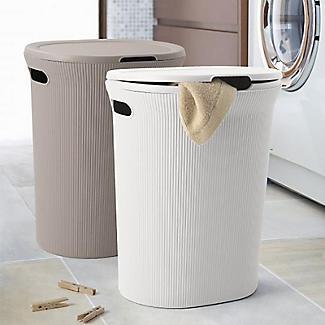 Tatay Laundry Hamper White 40L alt image 5