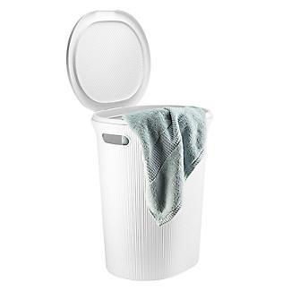 Tatay Laundry Hamper White 40L alt image 7