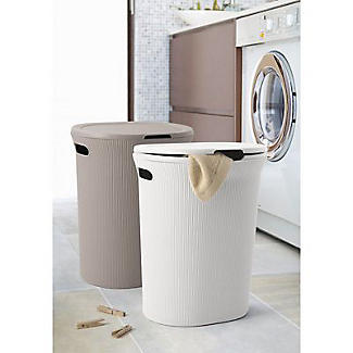 Tatay Laundry Hamper Taupe 40L alt image 2
