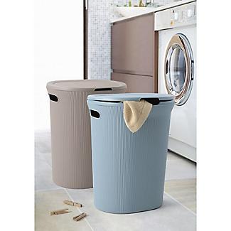 Tatay Laundry Hamper Taupe 40L alt image 3