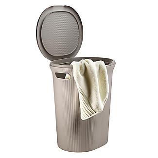 Tatay Laundry Hamper Taupe 40L alt image 5