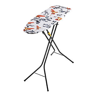 Easy-Store Mini Ironing Board with Hanger Hook – Black alt image 5