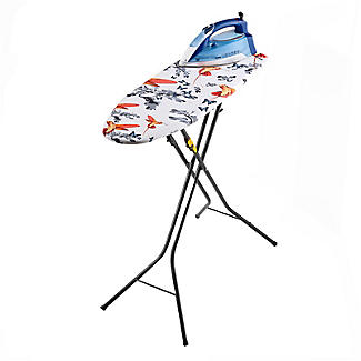 Easy-Store Mini Ironing Board with Hanger Hook – Black alt image 6