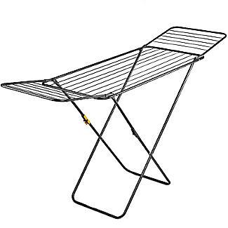 Flat Winged Airer Black alt image 3