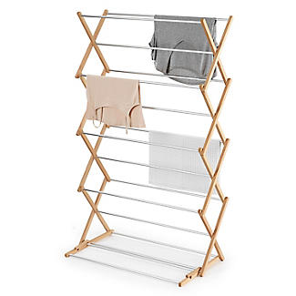 Classic Concertina Indoor Clothes Airer Extra Wide