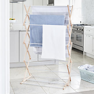 Classic Concertina Indoor Clothes Airer Extra Wide  alt image 2