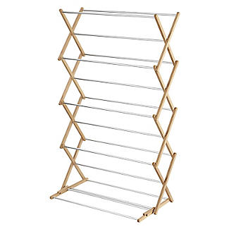 Classic Concertina Indoor Clothes Airer Extra Wide  alt image 3