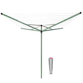 Brabantia 50M Topspinner Rotary Airer – Leaf Green 290367