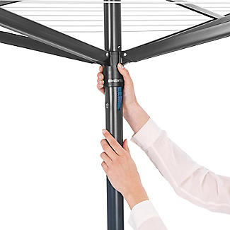 Brabantia 50M Topspinner Rotary Airer – Anthracite Grey 290343 alt image 4