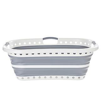 Lakeland Collapsible Hipster Laundry Basket 27L alt image 3