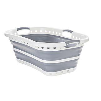 Lakeland Collapsible Hipster Laundry Basket 27L alt image 5