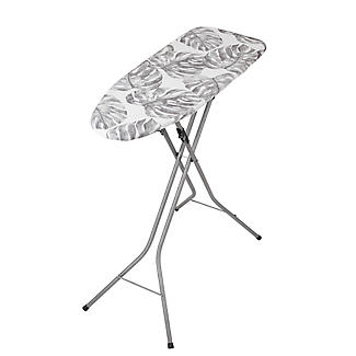 Easy-Store Mini Ironing Board with Hanger Hook – Tropical Foliage alt image 1