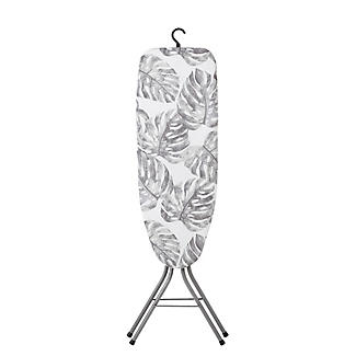 Easy-Store Mini Ironing Board with Hanger Hook – Tropical Foliage alt image 4
