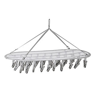 DrySoon 30 Peg Hanger with Mesh Shelf for DrySoon Airers