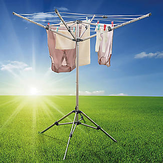 Lakeland Free-Standing Outdoor Rotary Airer alt image 6