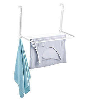Over-Door Fold-Away Clothes Airer