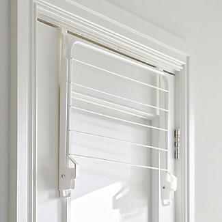 Over-Door Fold-Away Clothes Airer alt image 4