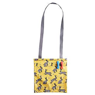 Running Hare Oilcloth Peg Bag