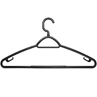 6 Eco Recycled Plastic Clothes Hangers alt image 2