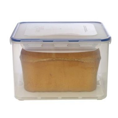 Lock Lock Rectabgular Bread Box 9l Lakeland