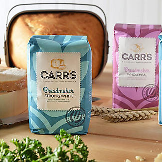 Carrs Breadmaker Strong White Bread Mix 10 x 500g alt image 2