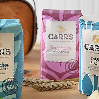 Carrs Breadmaker Wholemeal Bread Mix 10 x 500g alt image 2