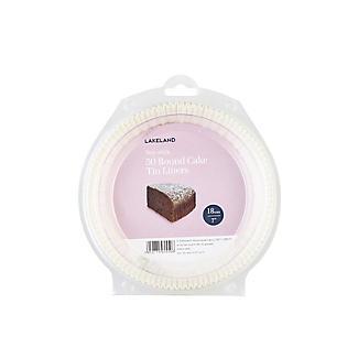 Lakeland Baking Parchment 18cm Cake Tin Liners - Pack of 50 alt image 3