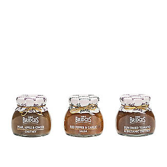 Mrs Bridges Savoury Chutney Trio in a Jute Gift Bag 3 x 100g alt image 3