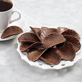 Belgian Dark Chocolate Thins - Mint Crisp 125g alt image 2