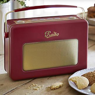 Retro Radio Biscuit Tin