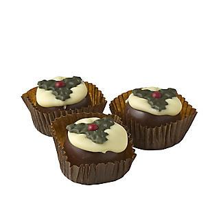 Chocolate Christmas Puddings alt image 2