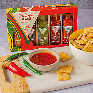 Cottage Delight Mini Hot Sauces Gift Set alt image 3