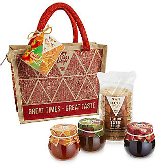 Cottage Delight Indulgent Treats Tote Christmas Hamper