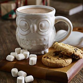 Owl Hot Chocolate Mug alt image 2