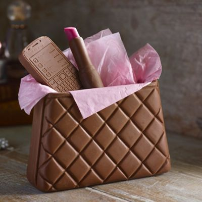 Choc On Choc Chocolate Handbag 250g Lakeland
