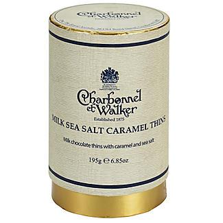 Charbonnel Milk Sea Salt Caramel Thins