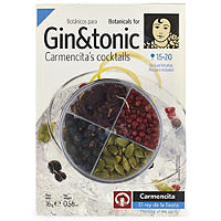 Gin and Tonic Cocktail Botanicals