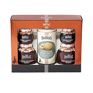 Mrs Bridges Berry Preserves and Biscuits Gift Box