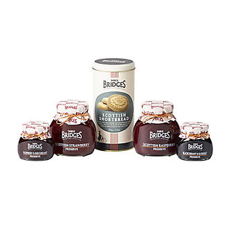 Mrs Bridges Berry Preserves and Biscuits Gift Box alt image 2