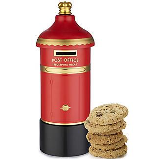 Grandma Wild's Post Box Biscuit Tin