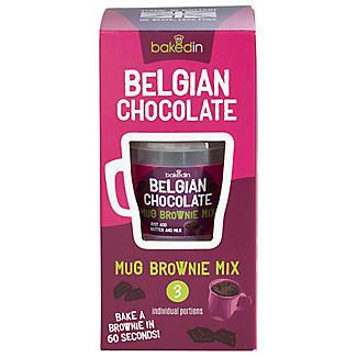 Baked In Mug Belgian Chocolate Brownie Mix