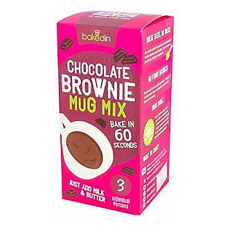 Baked In Mug Belgian Chocolate Brownie Mix alt image 3