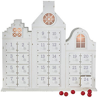 Lakeland Light-Up Chocolate Advent House