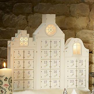 Lakeland Light-Up Chocolate Advent House alt image 2