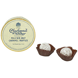 Charbonnel et Walker Milk Sea Salt Caramel Truffles Mini Box alt image 2