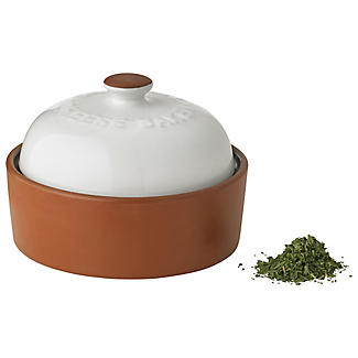 Terracotta Cheese Baker with Mixed Herbs