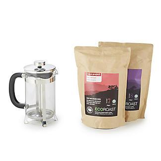 Eden Project Eco Roast Coffee Gift Set